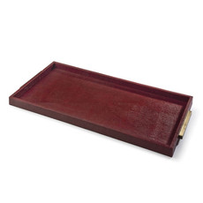 MH Tray - Rectangle Boutique - Sangria Python