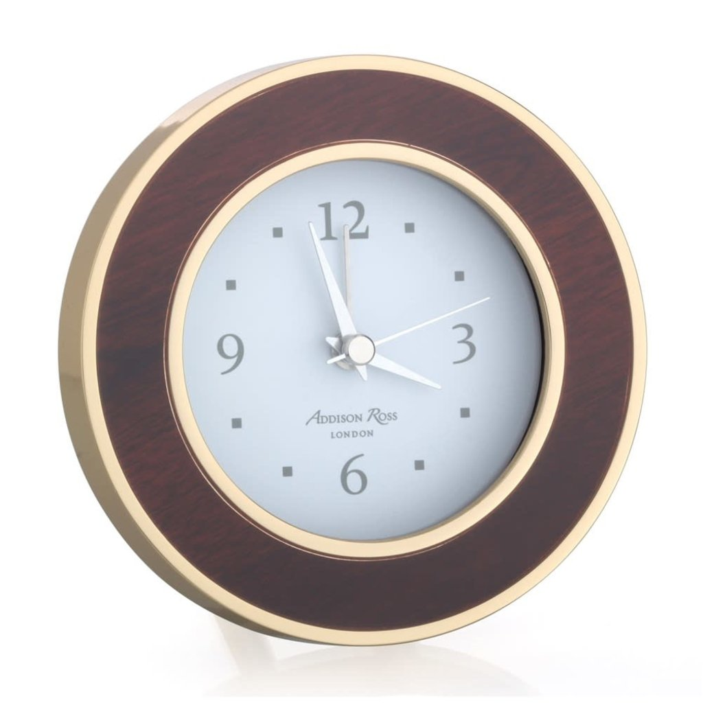 MH Alarm Clock - Round -  Tuscan Dawn - Gold
