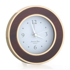 Addison Ross LTD Alarm Clock - Round -  Tuscan Dawn - Gold