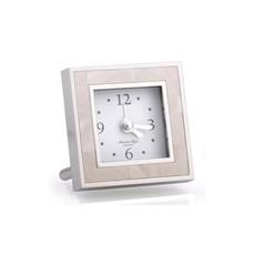 Alarm Clock - Square - MOP & Silver