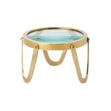 "Edwin Magnifying Glass - Brass - 5.5""W x 4""H"