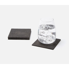 Henry - Faux Shagreen Coasters -  Multiple Colors
