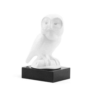 Statue - Owl - White - 7W x 5D x 10H