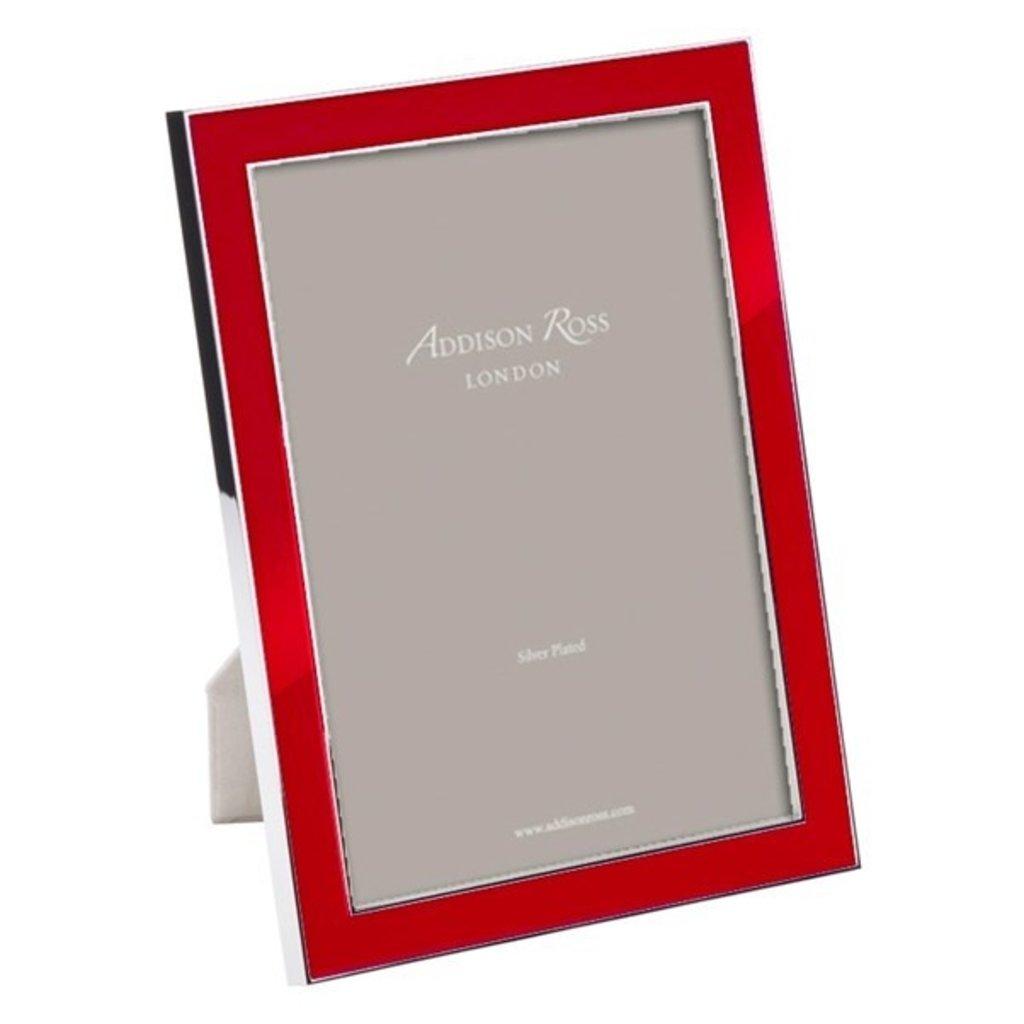 Addison Ross LTD Frame - Enamel - Red -