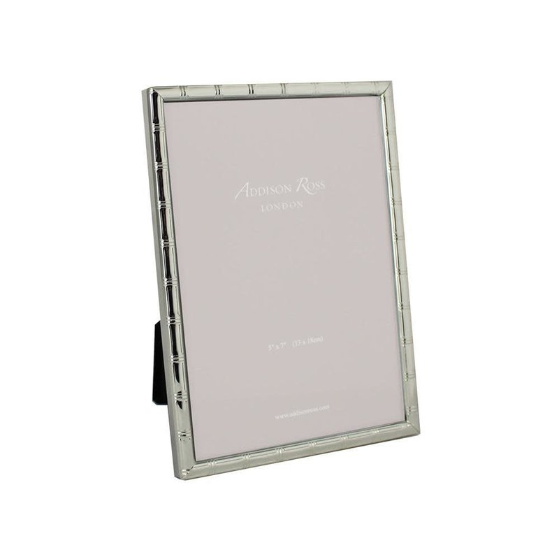 MH Frame - Cane - Silverplate  -