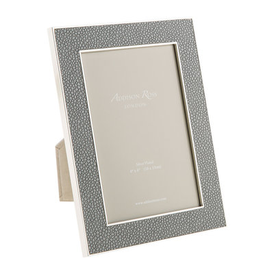 Frame - Faux Shagreen - Grey