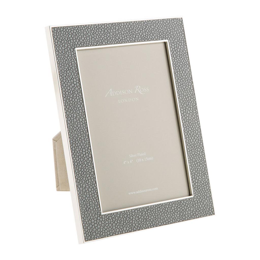 Frame - Faux Shagreen - Grey