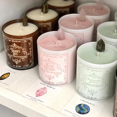 Candle - Soy - Gemstone -