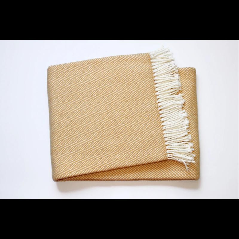 A Soft Idea / Apparel Solutions Throw - Herringbone Plush - Multiple Colors