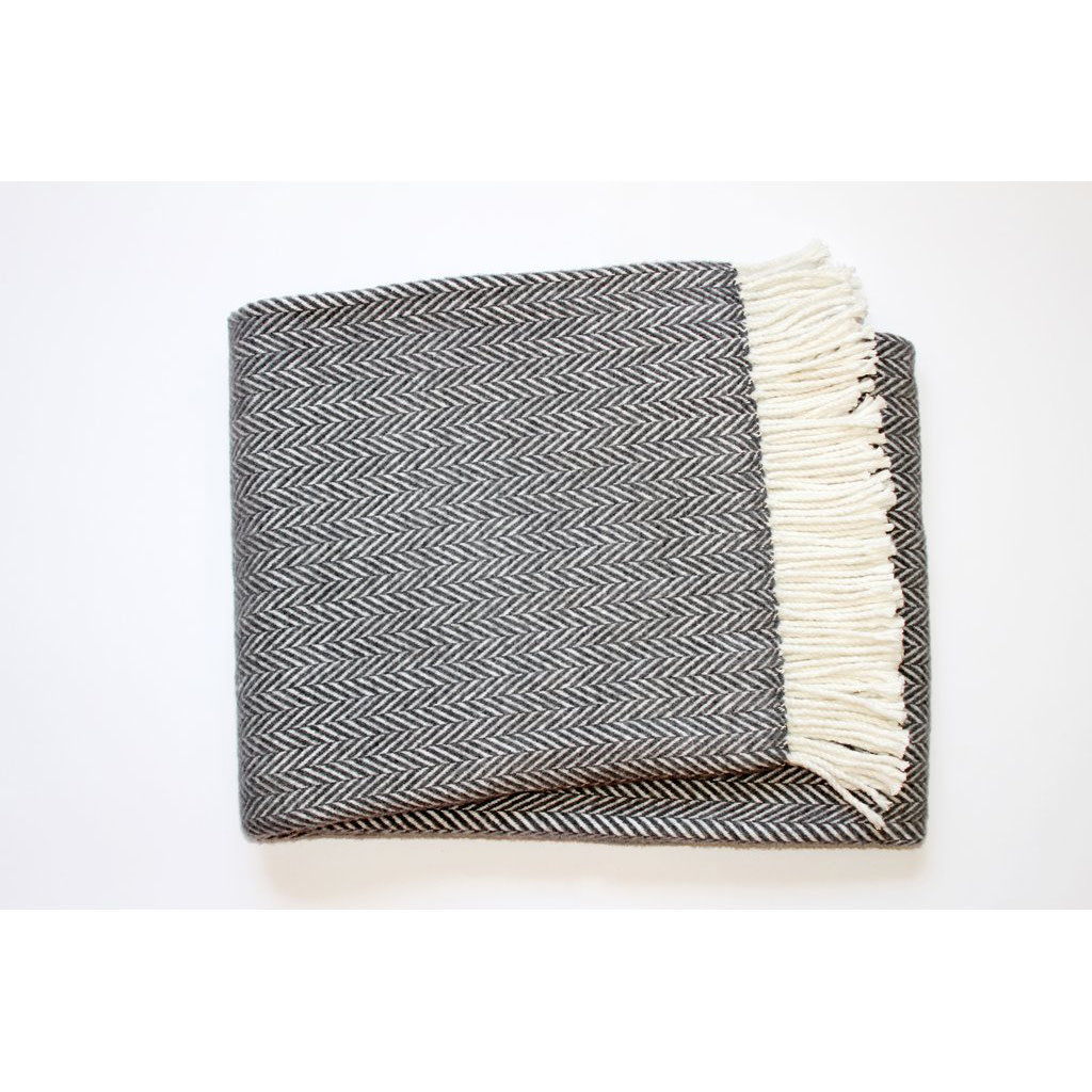 Throw - Herringbone Plush - 55x70 -