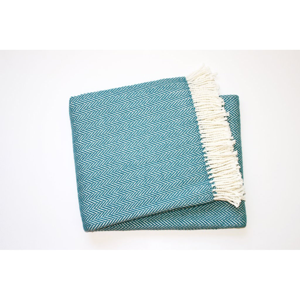 A Soft Idea / Apparel Solutions Throw - Herringbone Plush - 55x70 -