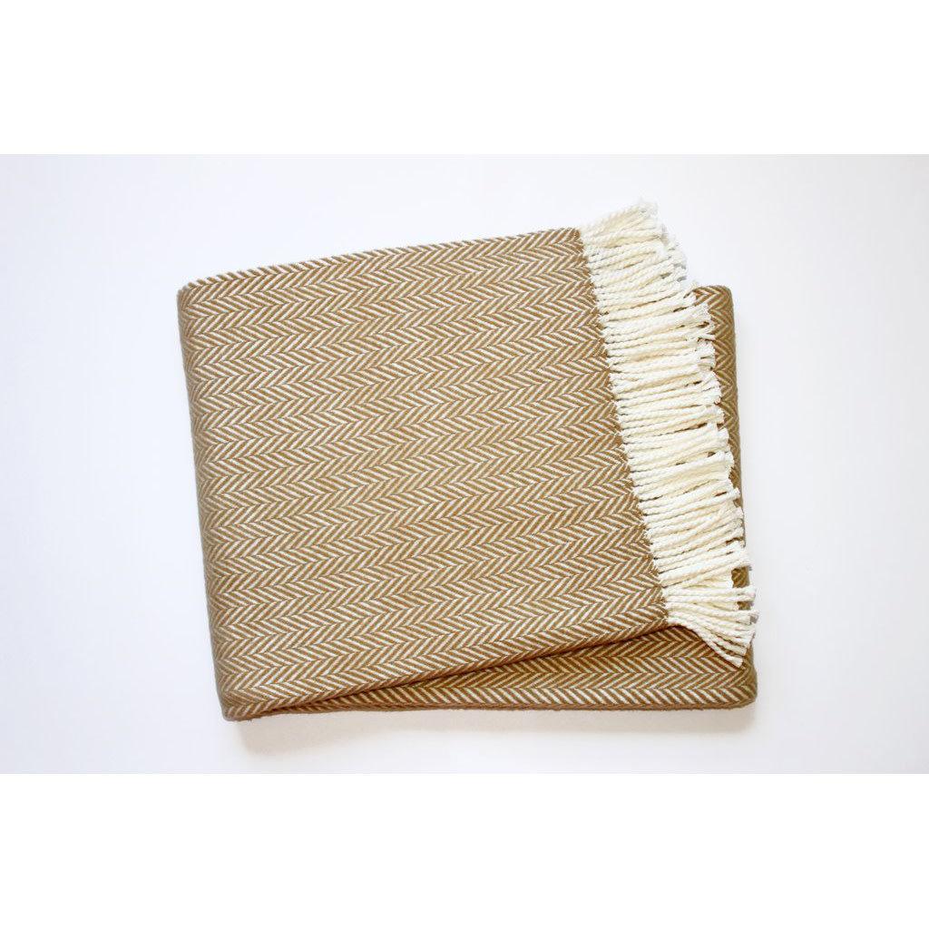 A Soft Idea / Apparel Solutions Throw - Herringbone Plush - 55x70 -