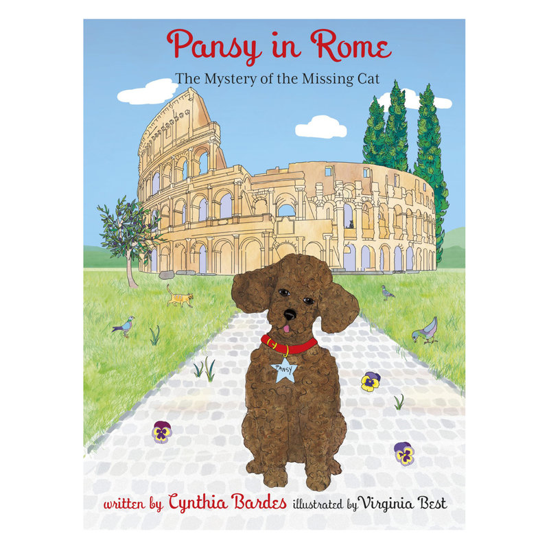 OCTOBRE PRESS Book -  7 - Pansy in Rome