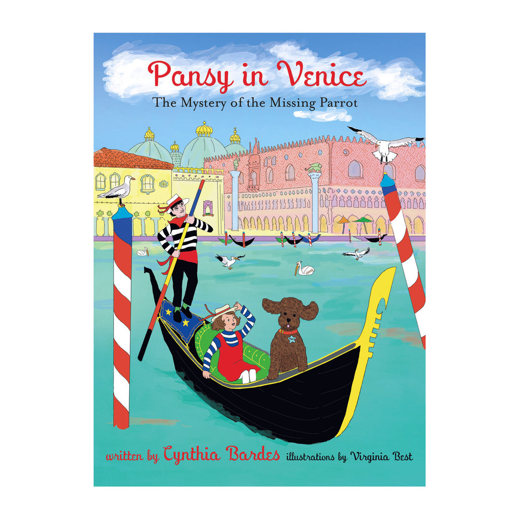Book -  3 - Pansy in Venice