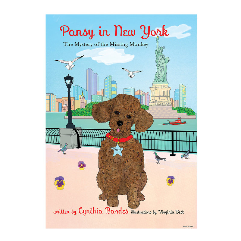 OCTOBRE PRESS Book -  4 - Pansy in New York