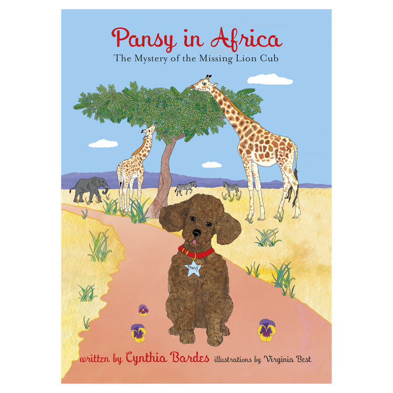 OCTOBRE PRESS Book -  6 - Pansy in Africa