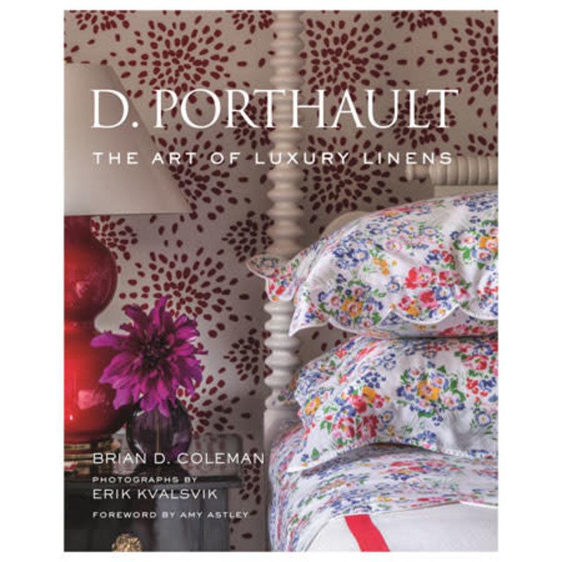 Gibbs Smith Publisher Book - D. Porthault: The Art of Luxury Linens