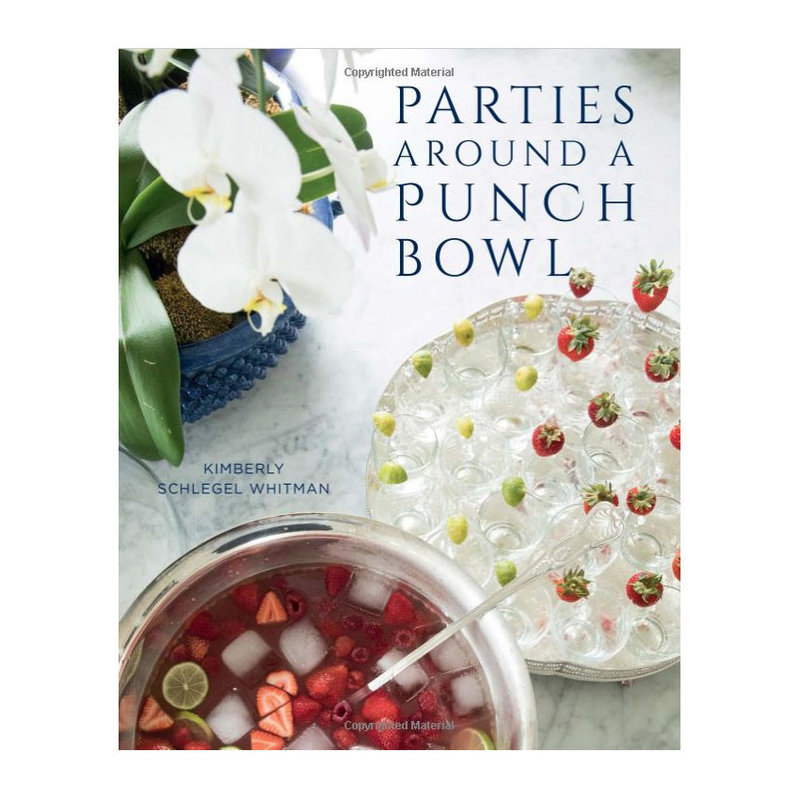 Gibbs Smith Publisher Book - Parties Around a Punch Bowl - Kimberly Whitman