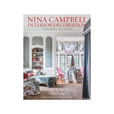 Book - Nina Campbell Interior Decoration: Elegance & Ease - Giles Kime