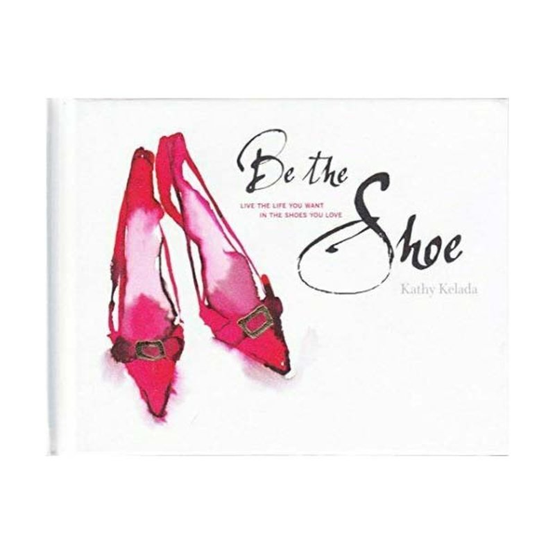 Papillon Books Book - Be the Shoe - Book w/Linen Shoe Bag