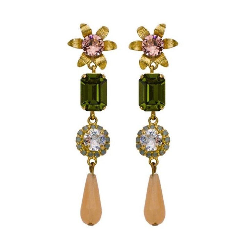 Caprice Decadent Earrings - Ophelia -