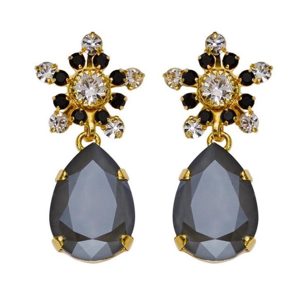 MH Earrings - Art Deco -