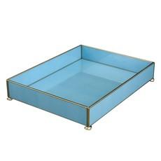 Vanity Tray -  Blue Lizard