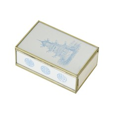 MH Matchbox Cover -  Blue Pagoda