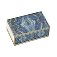 MH Matchbox Cover -  Blue Quartz