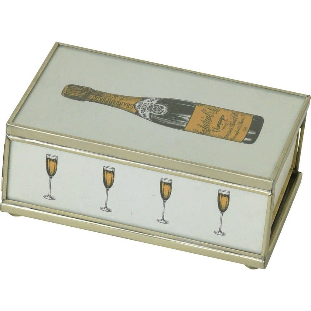 MH Matchbox Cover -  Champagne Bottle