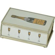 Matchbox Cover -  Champagne Bottle