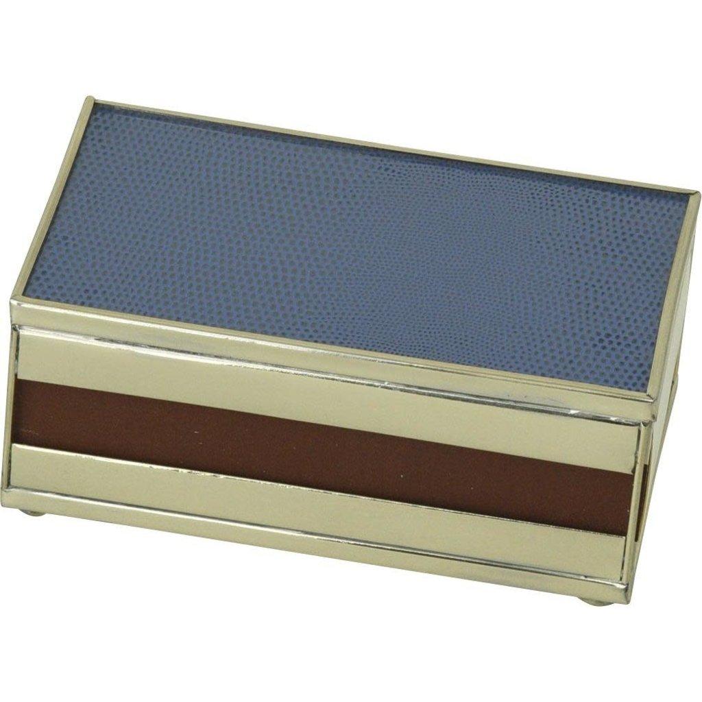 MH Matchbox Cover -  Cobalt Lizard