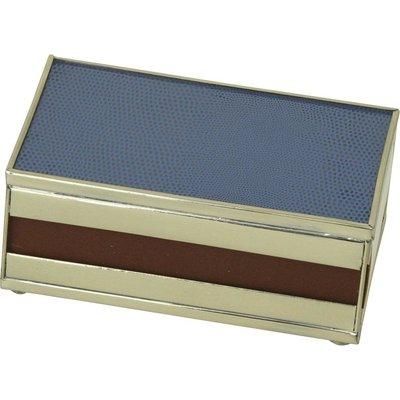Matchbox Cover -  Cobalt Lizard