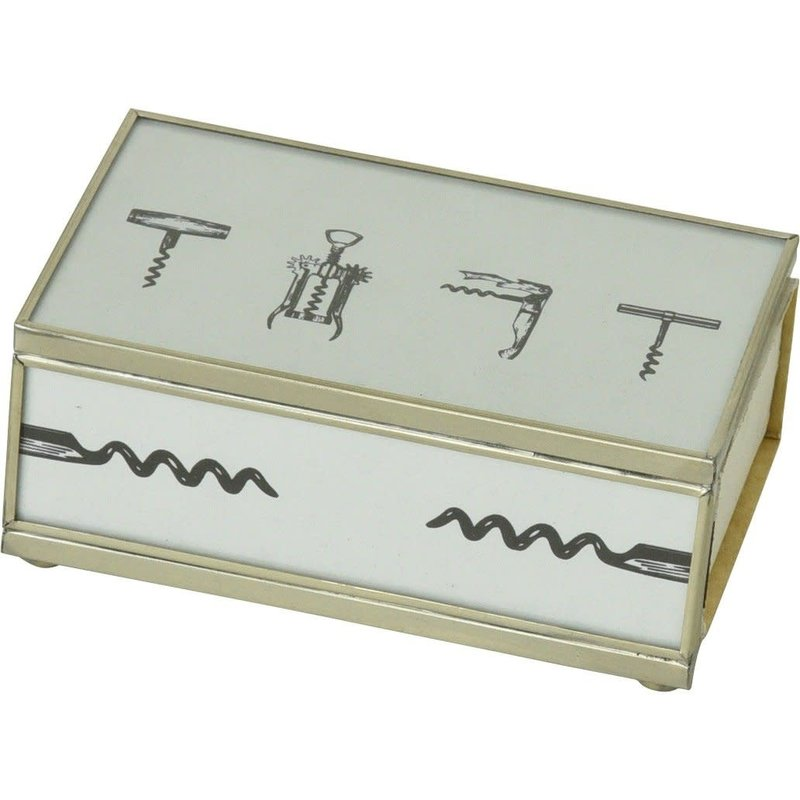 JM Piers Fine Furniture Matchbox Cover -  Cork Screws