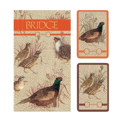 Bridge Set - 2 Decks & 2 Score Pads -  Albemarle Hall