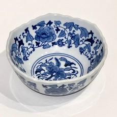"MH Bowl - Scalloped Edge Bowl 8"" - Canton Blue & White Collection"