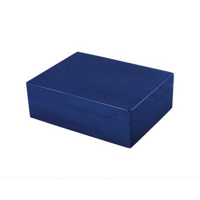 Box - Wood - (8x6x3) -  Blue