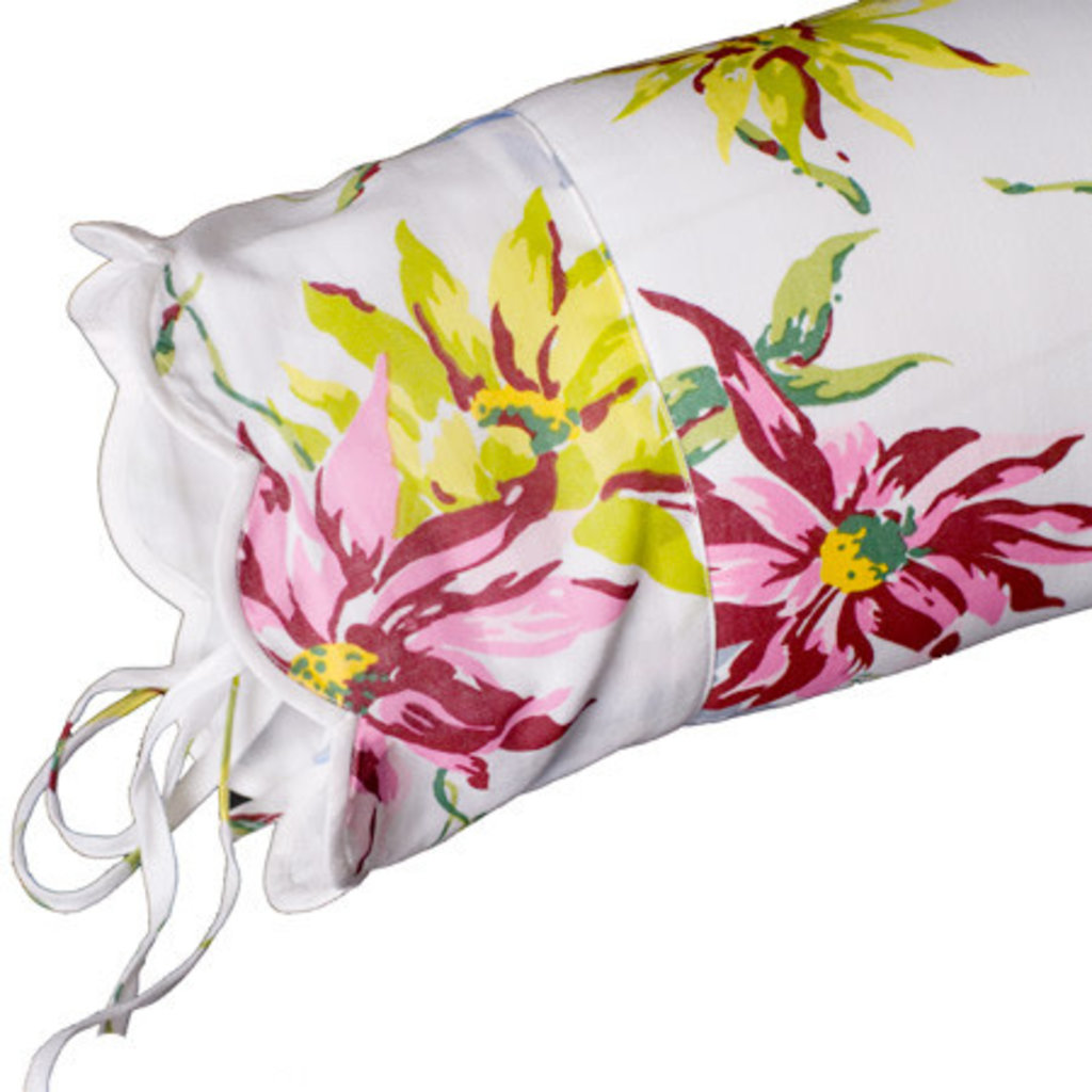 Dahlia - Percale - Blue Scallop - Bedding -