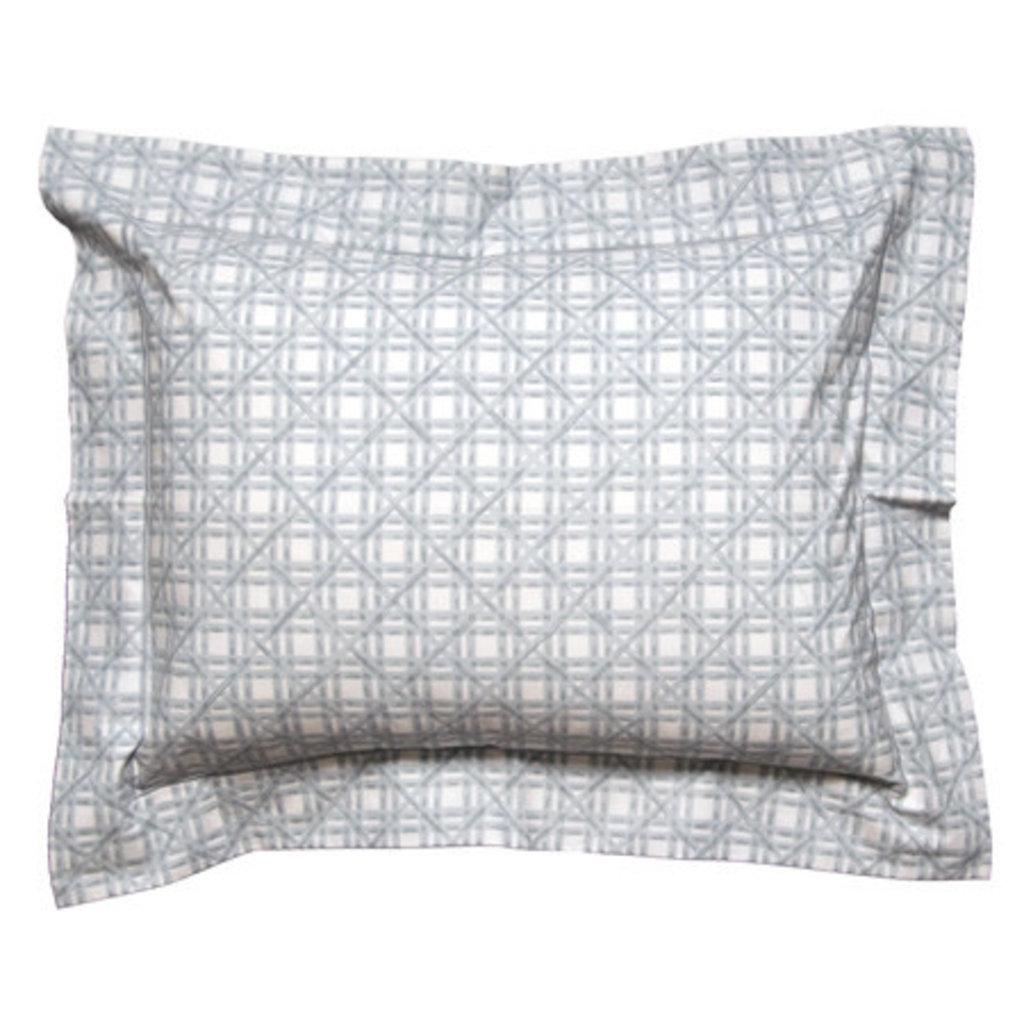 D. Porthault Indochine - Grey - Bedding - Sham - Boudoir
