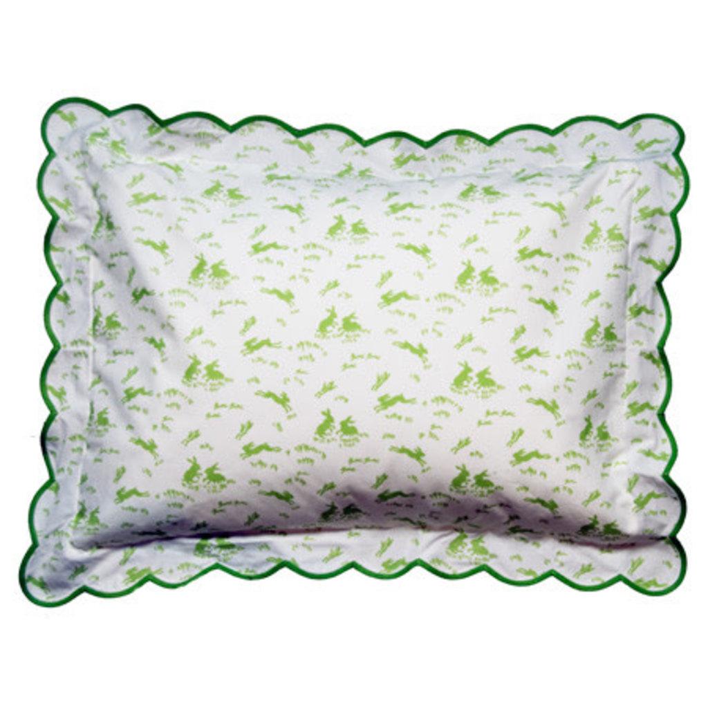 Lapins - Bedding - Sham - Scallop - Boudoir - Multiple Colors