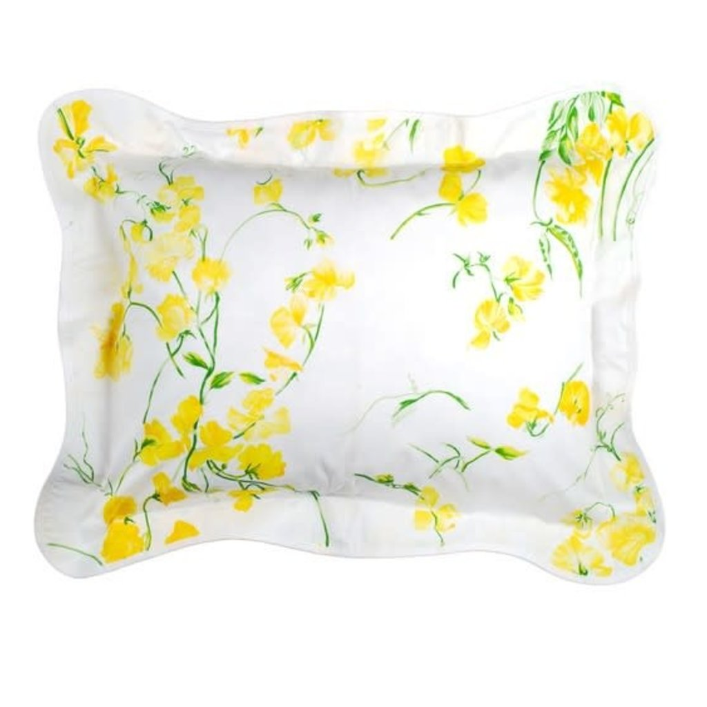 Pois de Senteur - Yellow - Bedding