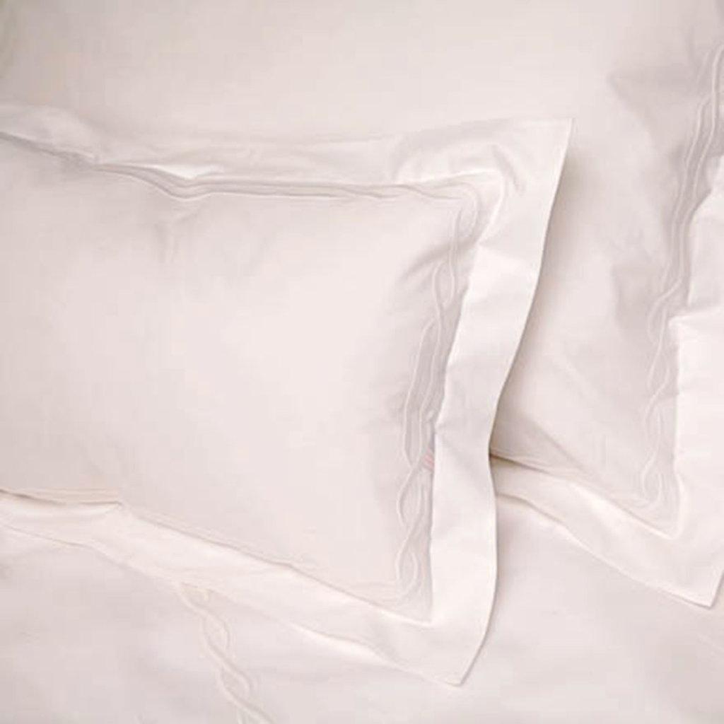 D. Porthault Tresse - White - Bedding - Boudoir