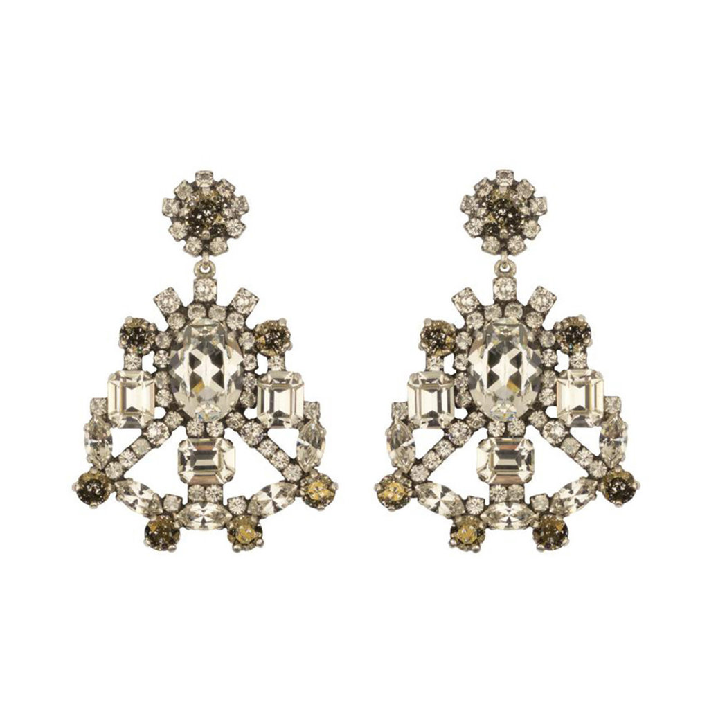 Earrings - Dolce - 1 - Clear/Bronze