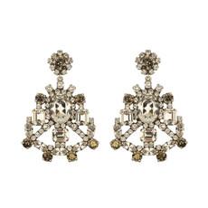 MH Earrings - Dolce - 1 - Clear/Bronze