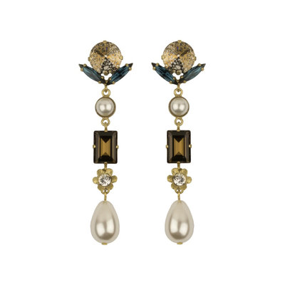 Earrings - Vedette 6 - Pearl