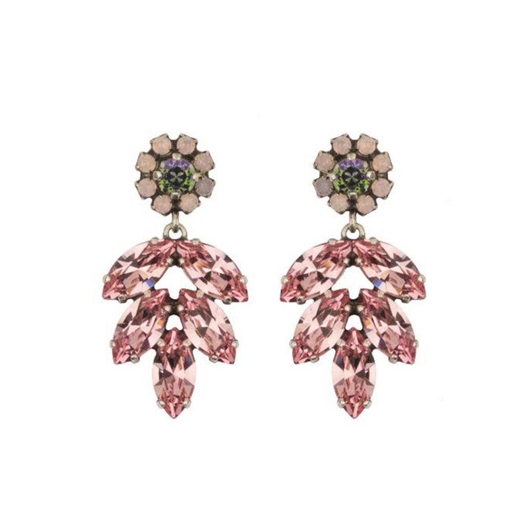 Earrings - Aphrodite -  9 - Pink/Green