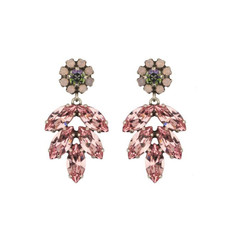 Earrings - Aphrodite -  9 - Pink/Green