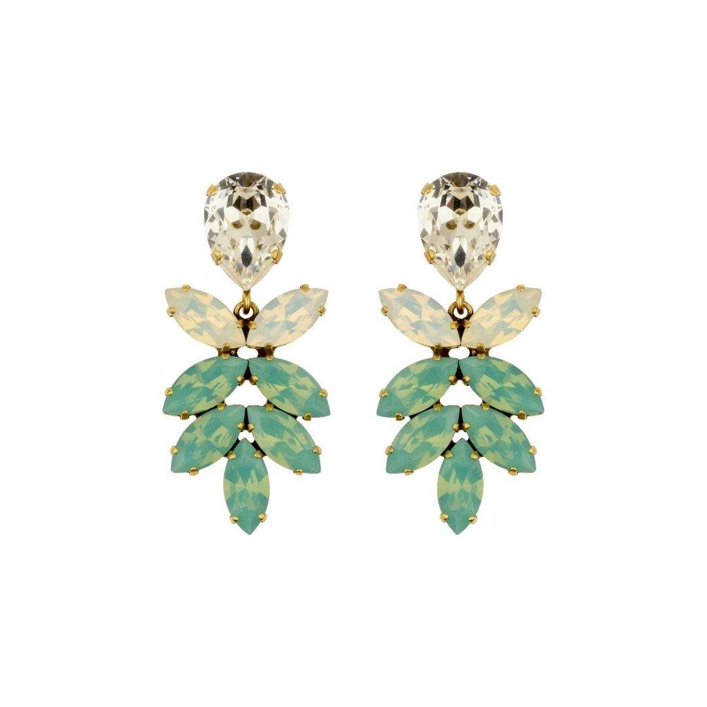 Earrings - Aphrodite II - 4 Turquoise