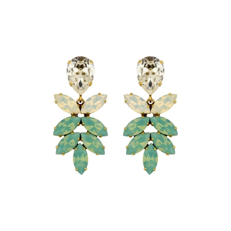 Caprice Decadent Earrings - Aphrodite II - 4 Turquoise