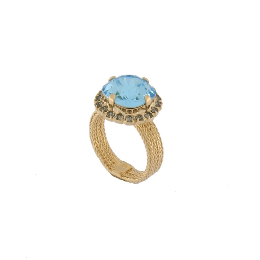 MH Ring - Bliss II -  Aquamarine